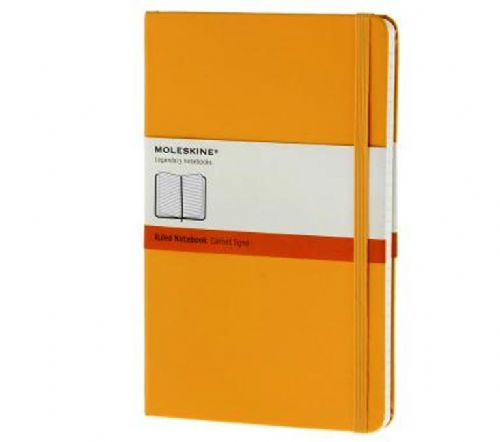 Yellow Large Ruled Notebook